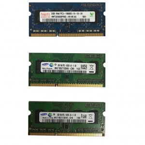 MARKOWA PAMIĘĆ DO LAPTOPA 2GB DDR3 SODIMM 10600S