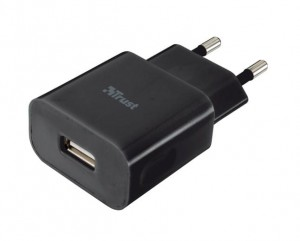 Trust 5W Wall Charger -  black