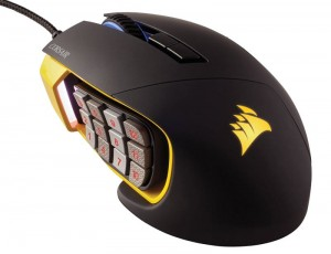 HIT! MYSZ GAMING CORSAIR SCIMITAR RGB USB 12000DPI
