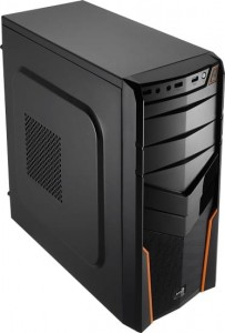 AeroCool PGS V2X BLACK/ ORANGE/USB3/Obudowa ATX