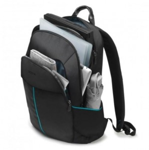 DICOTA Backpack Trade 14-15.6'' Black whit HDF
