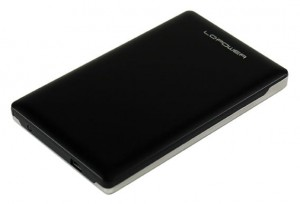 "LC-POWER OBUDOWA  2,5"" SATA LC-25U3-CAPELLA USB 3.0 ULTRA SLIM    6,35 cm"
