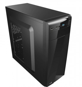 AeroCool PGS CS-1101 BLACK/USB3/Obudowa SLIM