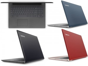 BŁĘKITNY LENOVO IdeaPad 320 QUAD 4GB 1TB DVD WIN10