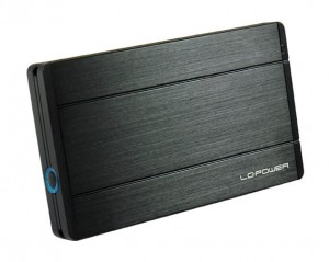 "LC-POWER OBUDOWA  2,5"" SATA LC-25U3-DIADEM USB 3.0 ULTRA SLIM     6,35 cm"