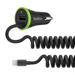 Belkin BoostUP Universal Car Charger + Lightning